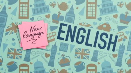 new language english